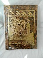 Egyptian Genuine Camel Leather Large Notebook Hunting Fishing 12 X 9.5 73