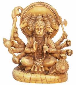Dio Indù panchmukhi Osho Hanuman JI STATUA STATUETTA SCULTURA Idolo