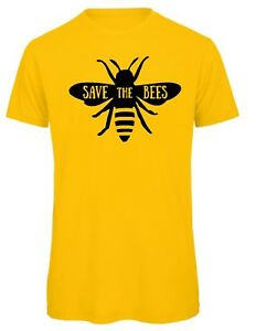 Save-The-Bees-T-shirt-Top-FESTIVAL-feminist-Vegan-t-shirt-unisex-amp-kids-sm-xxxl