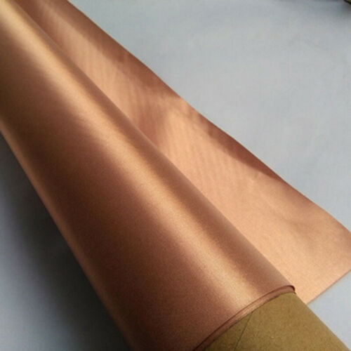 Anti-radiation tissu EMF blindage Chiffon RFID Bloquant Pour Doublures Gold 1.1M*1M