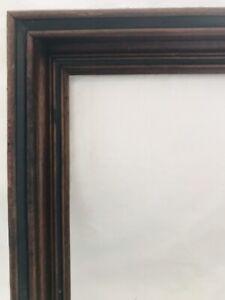 Antique-Victorian-Walnut-Arts-amp-Crafts-Mission-Picture-Frame-Fine-Art-Primitive