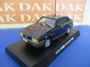 Die-cast-1-43-Modellino-Auto-Carabinieri-Alfa-Romeo-75-1-6-IE-1988-blu