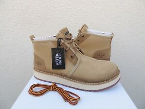 00368fa0774 Details about UGG TAN NEUMEL AVALANCHE WATER-PROOF LEATHER WINTER BOOTS, US  10/ EUR 43 ~NIB