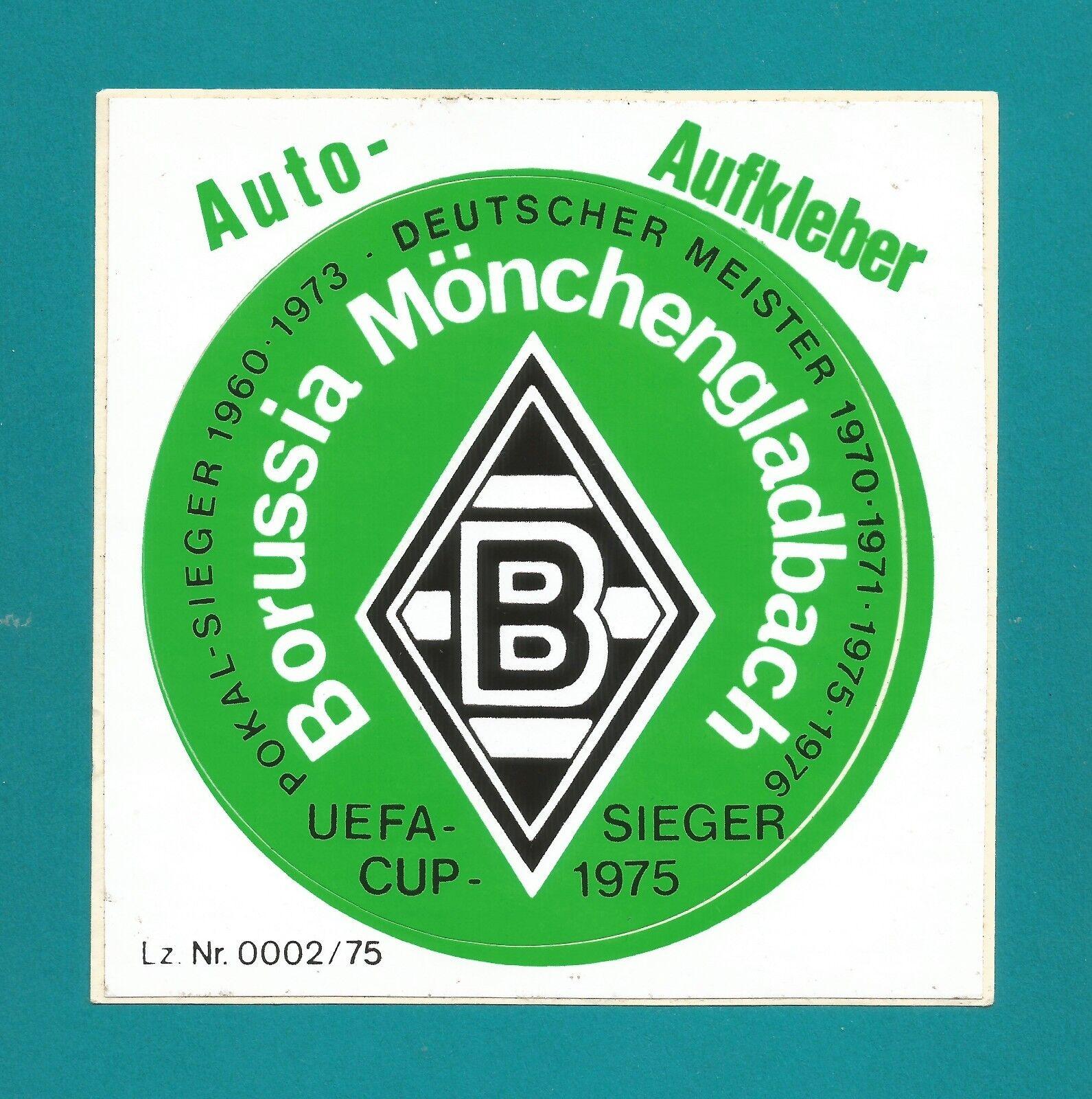 Details Zu Auto Aufkleber Borussia Mönchengladbach Siehe Foto