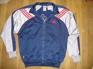 Détails sur ADIDAS survêtement veste blouson sport taille M USA 174 FR vintage TTBE