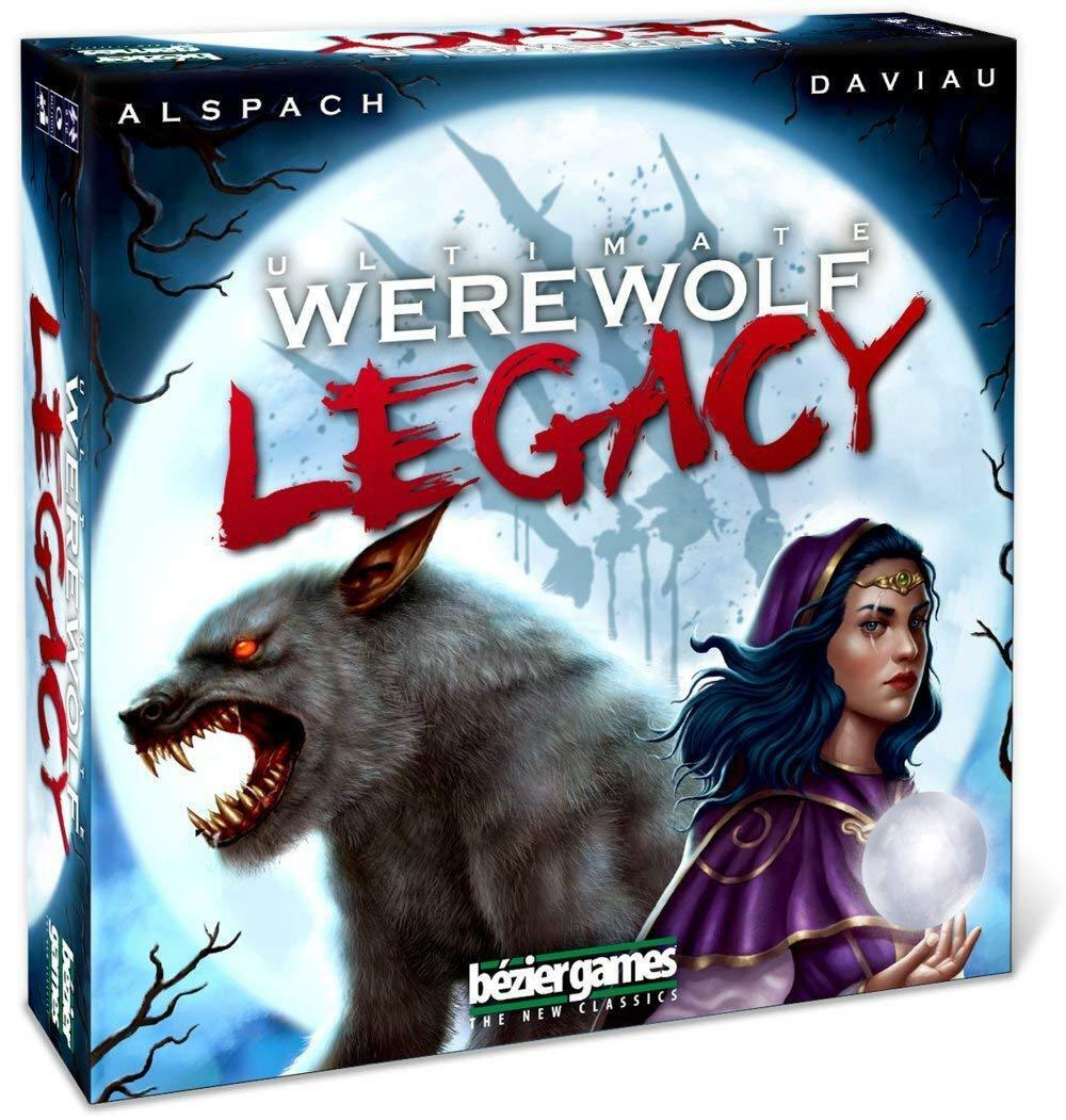 Ultimate Werewolf Legacy Deluxe Hidden Identity Game Bezier BEZUWLG Party Family