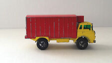 Made in England by Lesney Matchbox Series No 44 Refrigeration Truck  Red Yellow
