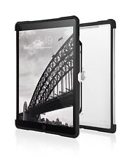 """STM Dux Rugged Protective Case for Apple iPad PRO  9.7"""" - Clear Black"""