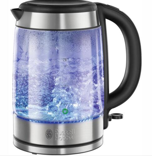 1.7 L Russell Hobbs 21600 Illuminating Glass Kettle Blue