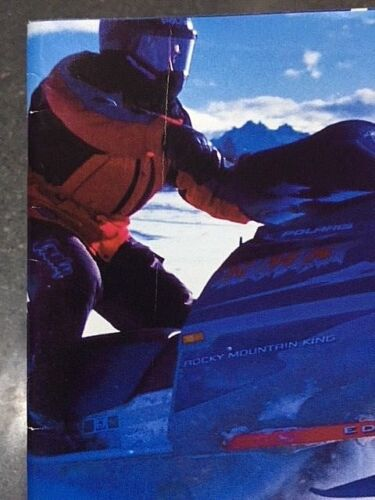 2002 Polaris Snowmobile Parts Apparel /& Accessories Brochure Part # 9917261