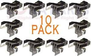(10 Pack) Washer Lid Switch Lock Frigidaire 134101800 5303306138 Ap2108159 Produire Un Effet Vers Une Vision Claire