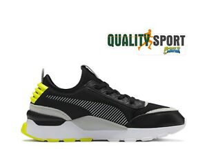 Détails sur Puma RS 0 Core Nero Giallo Scarpe Uomo Shoes Sportive Sneakers 369601 09 2019