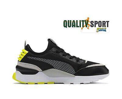 Puma RS-0 Core Nero Giallo Scarpe Uomo Shoes Sportive Sneakers 369601 09 |  eBay