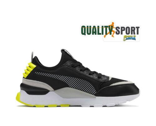 Puma RS-0 Core Schwarz Gelb Herrenschuhe Schuhe Sport Turnschuhe 369601 09 2019