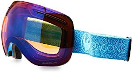 NEW Dragon  X1  SN-17062 Mill - Lumalens Blau Ion +1 L. Amber Snow Goggles
