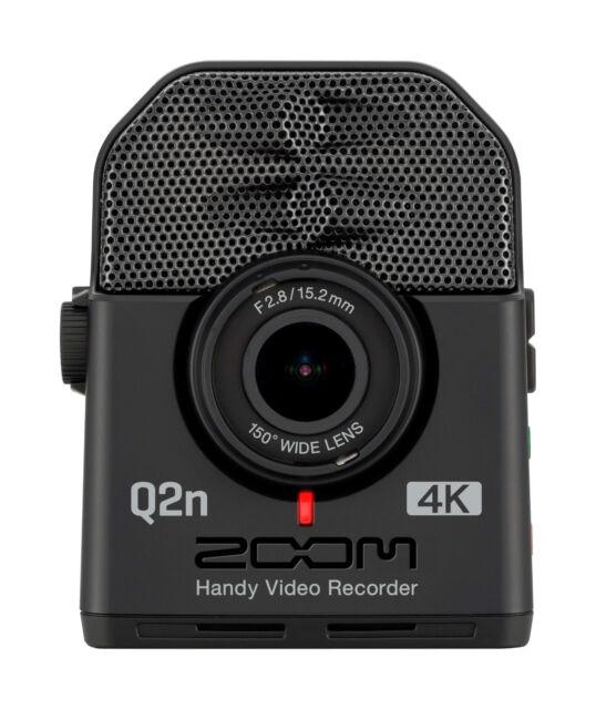 Like N E W Zoom Q2N-4K 4K Handy Video Camera with XY Mic Auth. Dealer!!