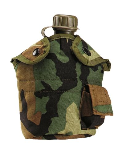 Militaire Type Enhanced Nylon 1 Qt Canteen Cover avec Tab Pochette cantine Transporteur