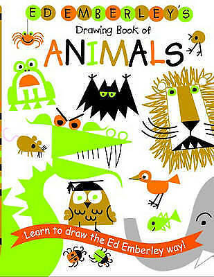 Ed Emberley's Drawing Book Of Animals by Ed Emberley (Paperback, 2006)