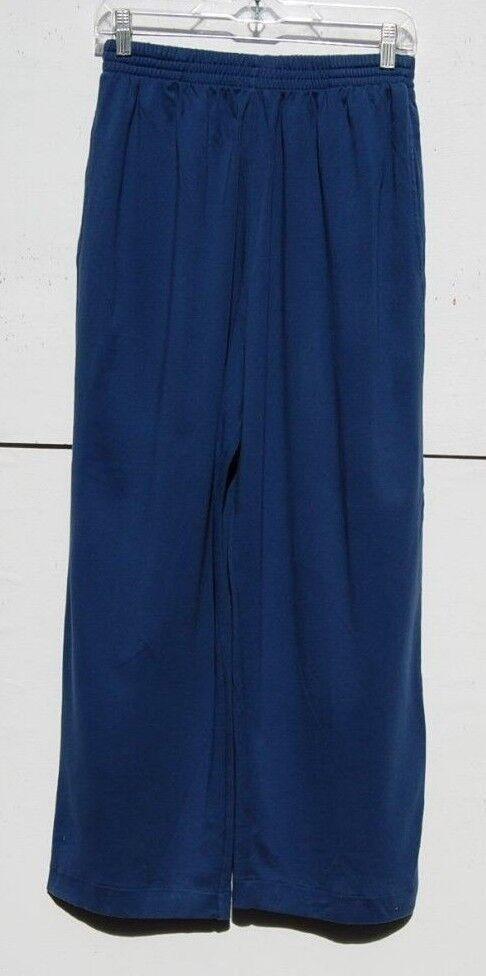 Eskandar  blueE Medium Weight Pima Cotton Trouser (1)
