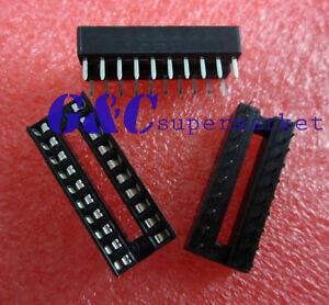 50PCS 8-Pin 8pins DIL DIP IC Socket PCB Mount Connector NEW GOOD QUALITY