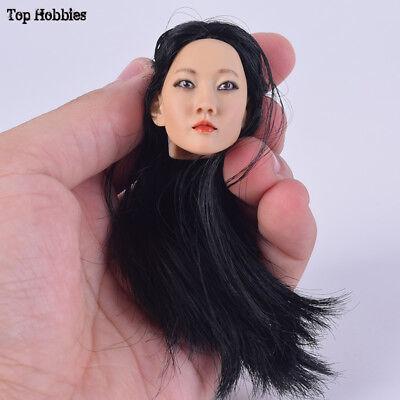 1//6 Accessories Head Sculpt KUMIK16-30 Model Hair Femal Fit 12/'/' Figure Action