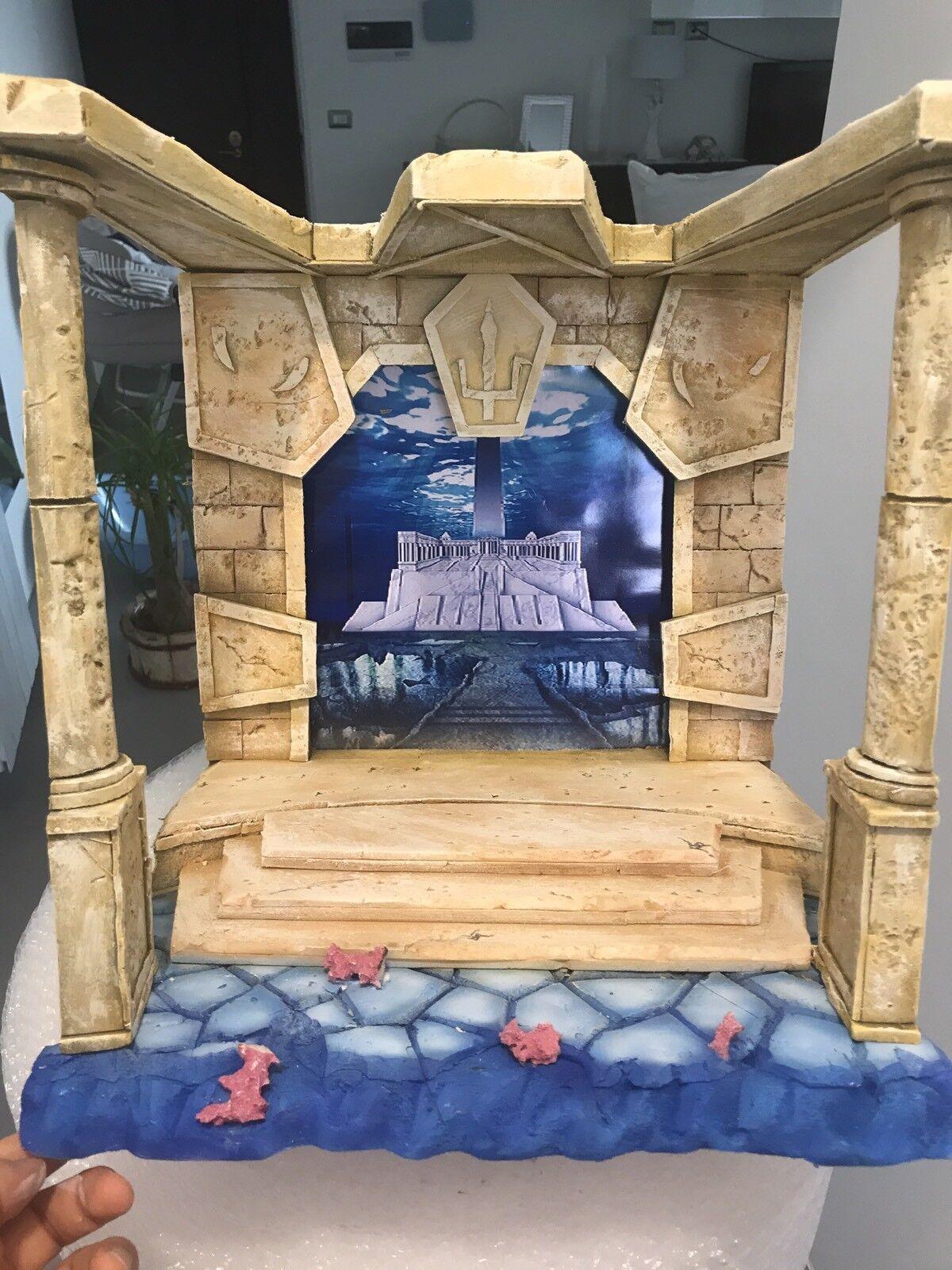 Diorama Decoration Cloth Scene Myth Cloth Decoration Saint Seiya Sala DI Nettuno/Poseidone Marin affc4e