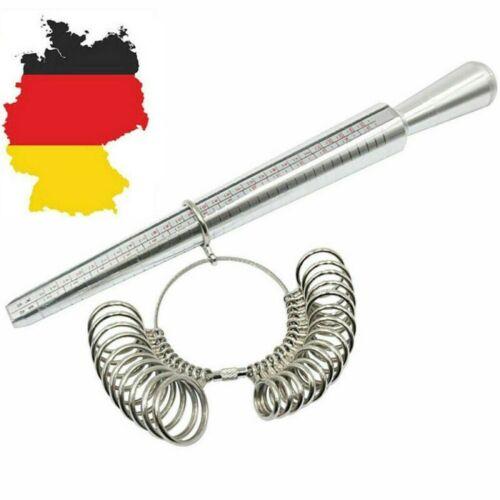 Ringmaß Ringstock Ringgrössenmesser Ringmesser Finger Messer Ringmessgerät DE