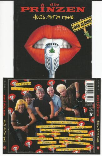 """1 von 1 - DIE PRINZEN """"Alles Mit´m Mund"""" CD 1996 Hansa/BMG - NEU/NEW"""