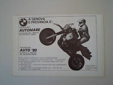 advertising Pubblicità 1984 GASTON RAHIER e MOTO R80 R 80 GS G/S PARIS DAKAR