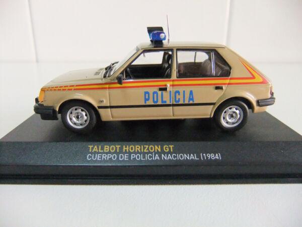 - Policia Nacional Espana - Talbot Horizon Gt 1:43 Police Polizia Polis Polizei