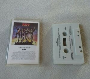KISS-Destroyer-Casablanca-Records-Vintage-Cassette-1976