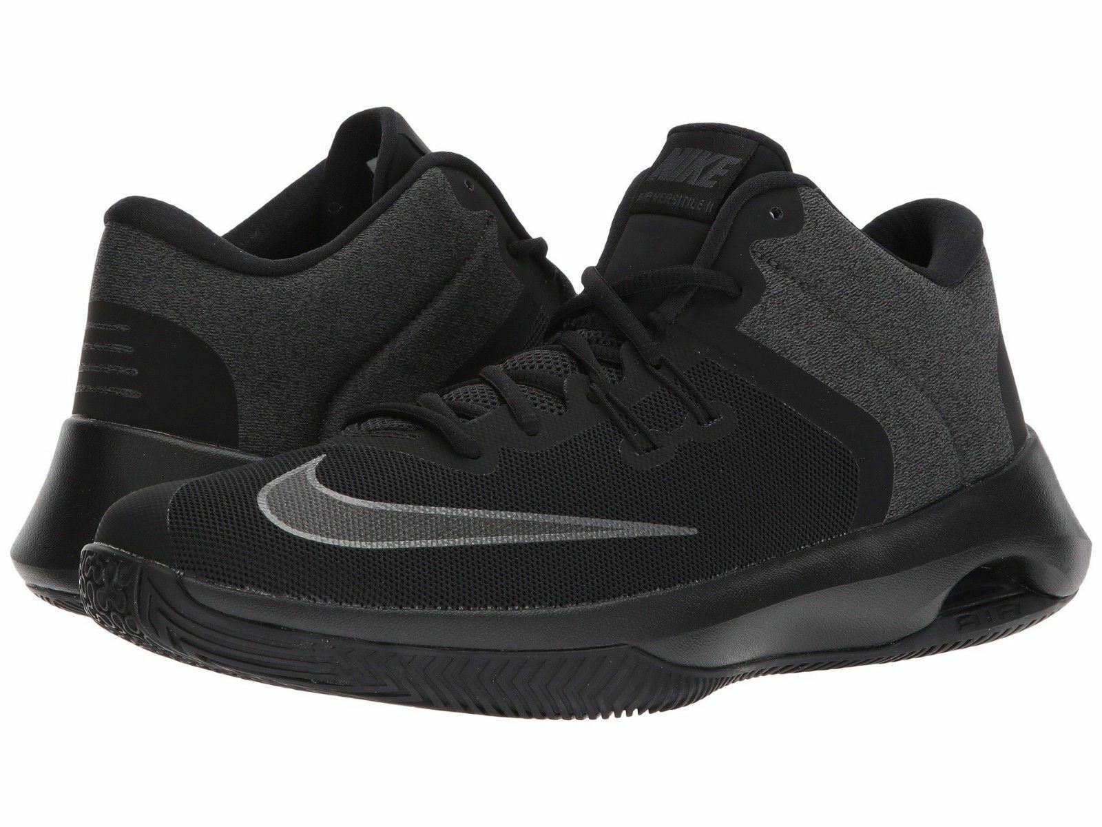 NIKE AIR VERSITILE II NBK LOW SNEAKERS MEN SHOES BLACK AA3819-002 SIZE 10 NEW