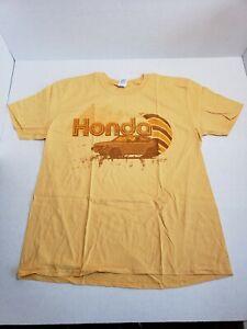Genuine-Honda-1G-Civic-Graphic-Tee-Shirt-Unisex-Adult-XL-Yellow