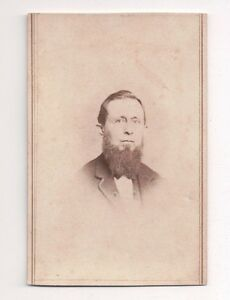 Vintage-CDV-Unknown-Bearded-Man-Civil-War-Era