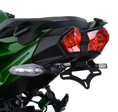 R/&G License Plate Bracket Tail Tidy LP0247BK Kawasaki Ninja H2 SX 2018