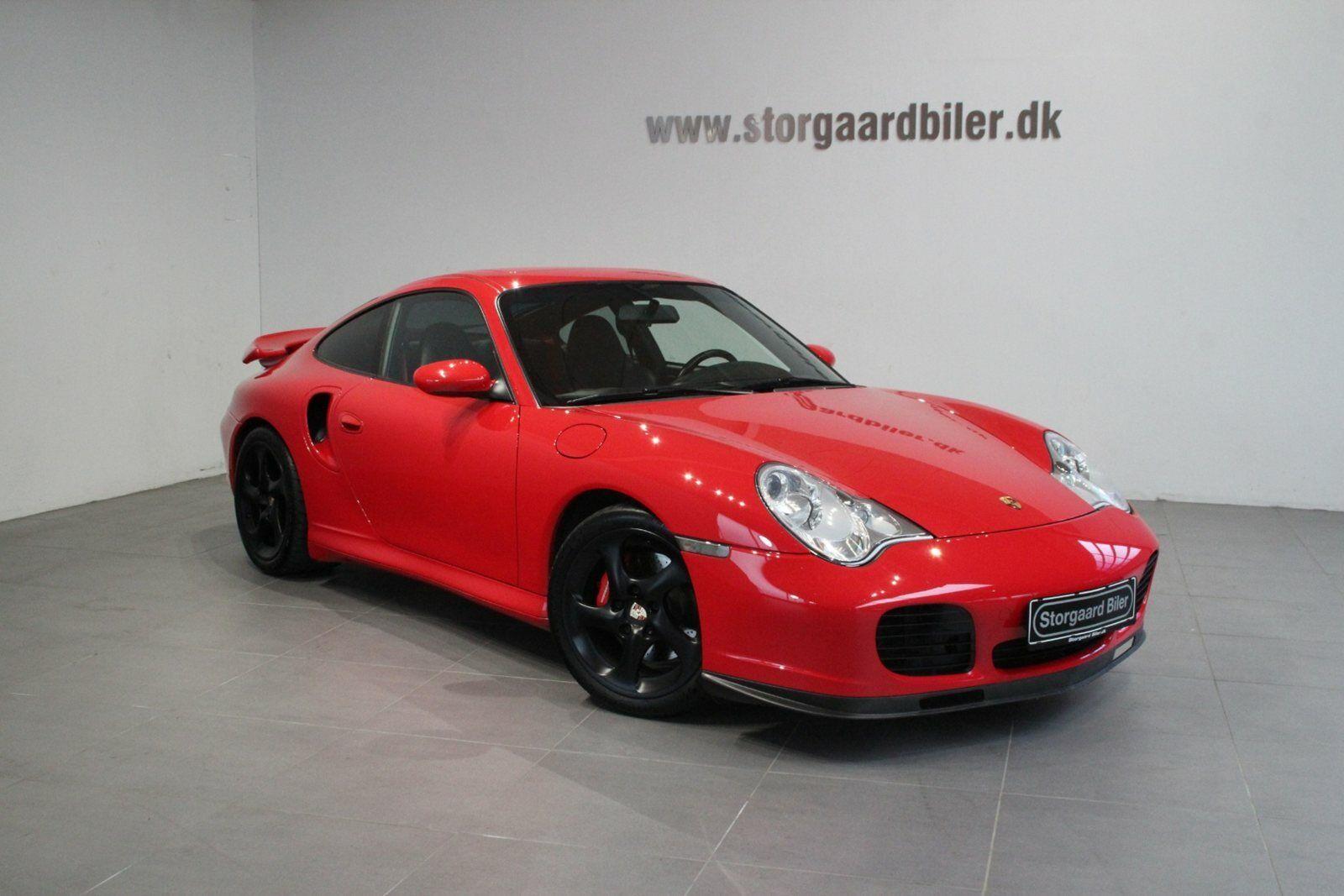 Porsche 911 Turbo 3,6 Coupé 2d - 4.495 kr.