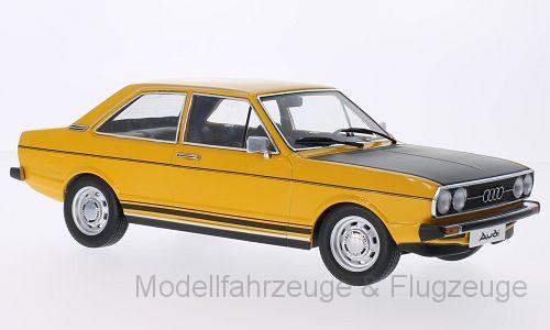 KKDC 180031 Audi, 80 GTE, jaune foncé mat-noir portes  et de hottes Si 1 18 KK-Scale  mode classique