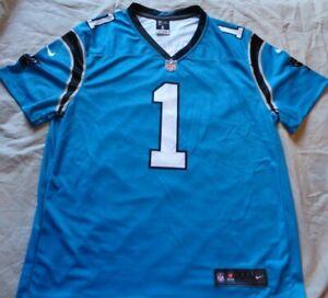 official photos 5b782 2d756 Details about Cam Newton #1 Carolina Panthers NFL Nike Color Rush Jersey  size XXL Dri-Fit Men