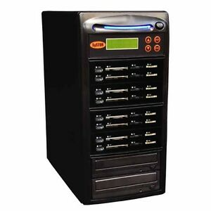 Systor 1:7 USB/SD/CF/MS Flash Memory Combo Card Duplicator - CD DVD Copier