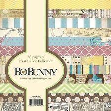 "New Bo Bunny  Paper Pad 6"" x 6"" C'est La Vie"