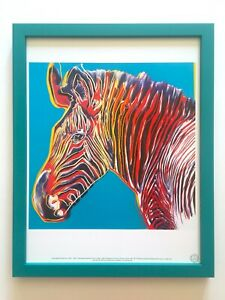 Andy Warhol Grevy/'s Zebra Poster Reproduction Paintings Giclee Canvas Print