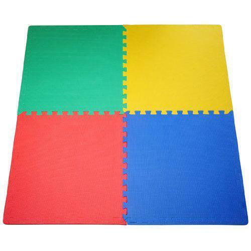 Enclenchement multicolores en mousse tapis de sol GYM JOUER GARAGE Kids Room