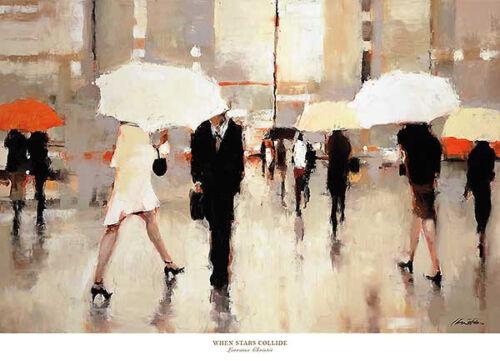 When Stars Collide by Lorraine Christie Scenic Umbrella Poster 36x26 ART PRINT