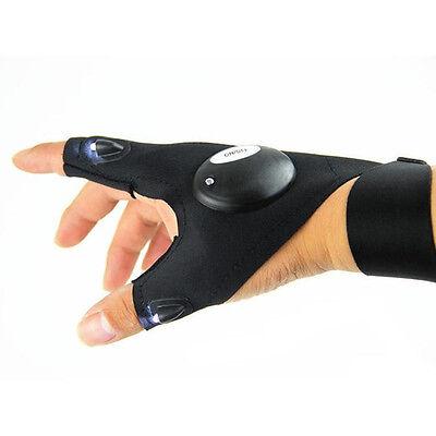 LED Light Finger Lighting Gloves Auto Repair Outdoors Flashing Artifact HOT