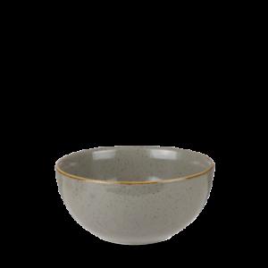 Churchill STONECAST Soup Bowl Peppercorn Grey Schüssel Porzellan 47 cl