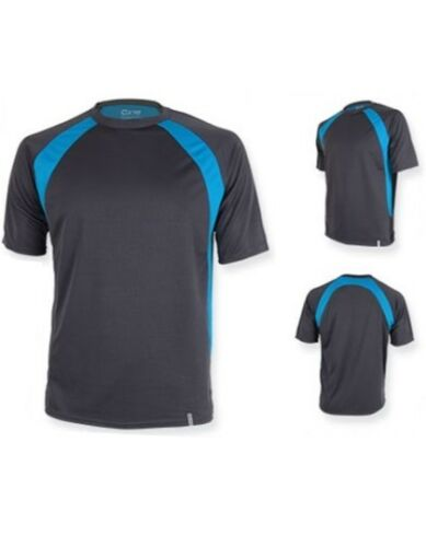 Herren Drypower Fitness Sport T-Shirt Gr.XS-XXL in 4 Farben Quick Dry CN140