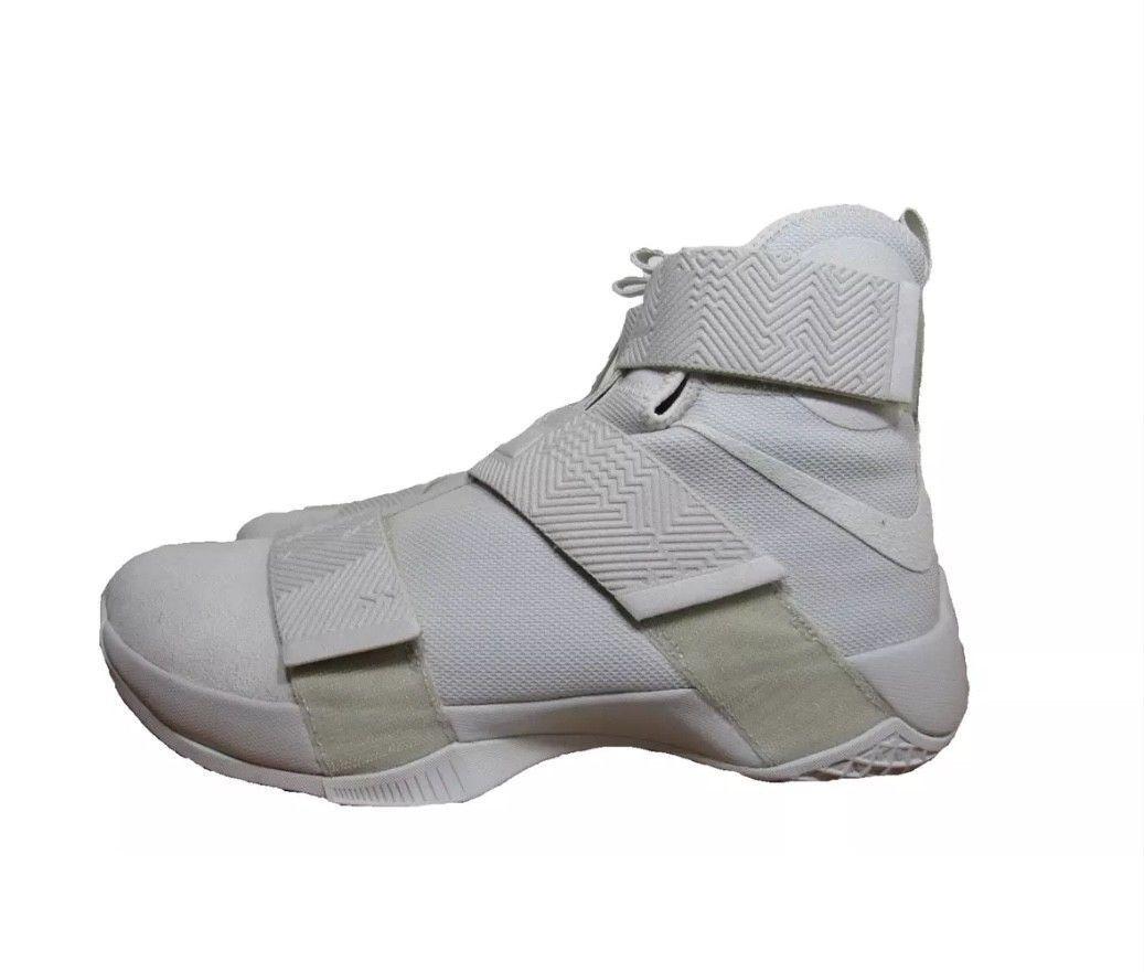 New Nike LEBRON Soldier 10 SFG Lux Bone Men's Basketball Shoes Light Bone Lux 911306 001 d9d0c2
