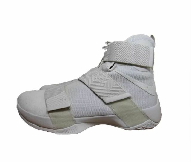 huge selection of 97764 3d25d New Nike LEBRON Soldier 10 SFG Lux Men s Basketball Shoes Light Bone 911306  001