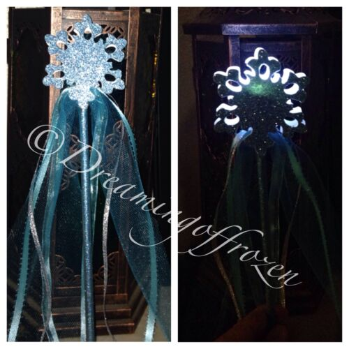 Princess Anna Wand Frozen Inspired LED Light Up Wand Princess Elsa Wand