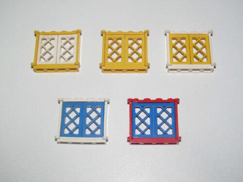 Lego ® Fenêtre Bateau Pirate Vintage 1X4X3 Windows Choose Model 3853 2529